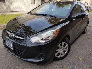 Used 2014 Hyundai Accent GL-Bluetooth-one owner-well maintained for sale in Mississauga, ON