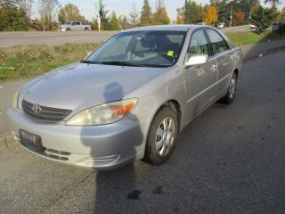 Used 2004 Toyota Camry LE for sale in Surrey, BC