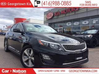 Used 2014 Kia Optima Hybrid EX | SUNROOF | ONE OWNER | RARE FIND | for sale in Georgetown, ON