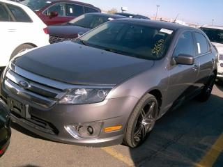 Used 2010 Ford Fusion SEL Moonroof Leather Seats for sale in Waterloo, ON