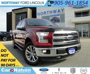 Used 2016 Ford F-150 Lariat   NAV   LEATHER   PANO ROOF   REAR CAM   for sale in Brantford, ON