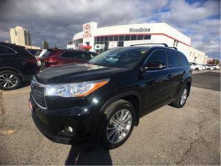 Used 2016 Toyota Highlander XLE AWD w/ Navigation, Backup Cam, Leather for sale in Etobicoke, ON