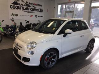 Used 2016 Fiat 500 Sport for sale in Coquitlam, BC