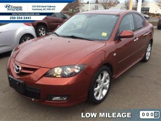 Used 2009 Mazda MAZDA3 GT  - local - trade-in - Low Mileage for sale in Courtenay, BC