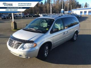 Used 2005 Chrysler Town & Country Limited  Rear Seat entertainment system, leather captains seats for sale in Courtenay, BC