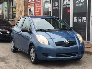 Used 2007 Toyota Yaris LE for sale in Etobicoke, ON
