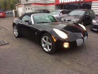Used 2006 Pontiac Solstice Roadster Low KMS for sale in Ottawa, ON