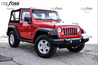 Used 2014 Jeep Wrangler SPORT for sale in Thornhill, ON