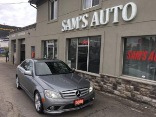 Used 2009 Mercedes-Benz C 300 3.0L 4MATIC for sale in Hamilton, ON