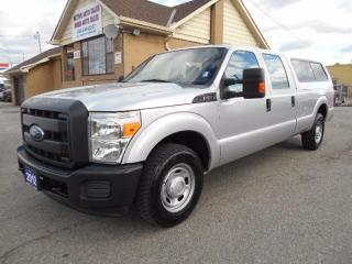 Used 2012 Ford F-250 XL Crew Cab 8FT Box LEER Cap ONLY 34,000KMs for sale in Etobicoke, ON