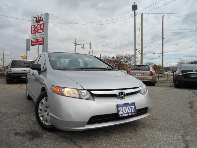 2007 Honda Civic AUTO LOW KM AC NO RUST NO ACCIDANT PW PL PM