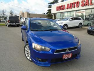 Used 2008 Mitsubishi Lancer GTS LOW KM,  4 NEW TIRES,  4 NEW BRAKES, HEATING S for sale in Oakville, ON