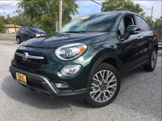 Used 2016 Fiat 500X Trekking AWD PANOROOF CLOTH/LEATHER for sale in St Catharines, ON