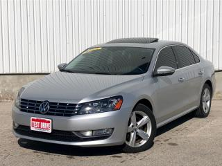 Used 2012 Volkswagen Passat 2.0l TDI LEATHER NAVIGATION *ACCIDENT FREE* for sale in Mississauga, ON