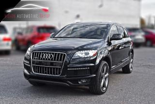 Used 2015 Audi Q7 3.0L TDI Vorsprung Edition|S-LINE|360 CAM|NAVI for sale in North York, ON