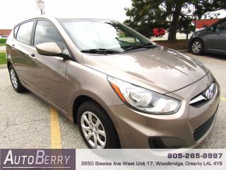 Used 2013 Hyundai Accent GLS - 1.6L - Manual for sale in Woodbridge, ON