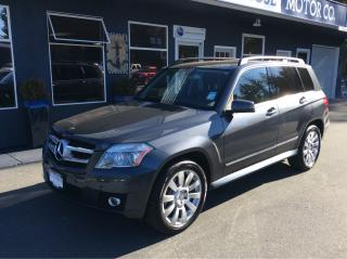 Used 2010 Mercedes-Benz GLK350 Premium package for sale in Parksville, BC