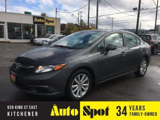Used 2012 Honda Civic EX/FULLY LOADED!/PRICED FOR A QUICK SALE! for sale in Kitchener, ON
