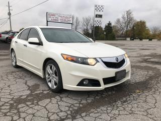 Used 2010 Acura TSX w/Tech Pkg for sale in Komoka, ON