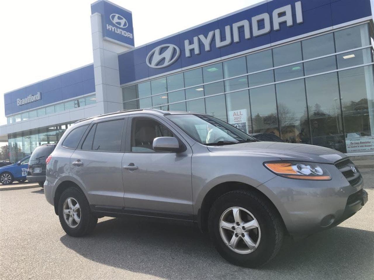Photo of Gray 2007 Hyundai Santa Fe