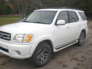 Used 2003 Toyota Sequoia 4x4  LIMITED  DVD/LEATHER for sale in Mansfield, ON