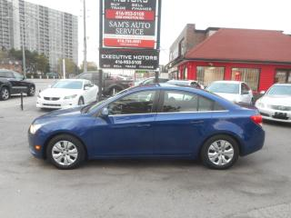 Used 2013 Chevrolet Cruze LT CLEAN CAR for sale in Scarborough, ON