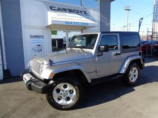 Used 2015 Jeep Wrangler Sahara 4x4, 2 Door, Navigation, Automatic for sale in Langley, BC