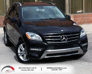 Used 2013 Mercedes-Benz ML-Class ML 350 BlueTEC | Sunroof | Navigation | Backup Cam for sale in North York, ON