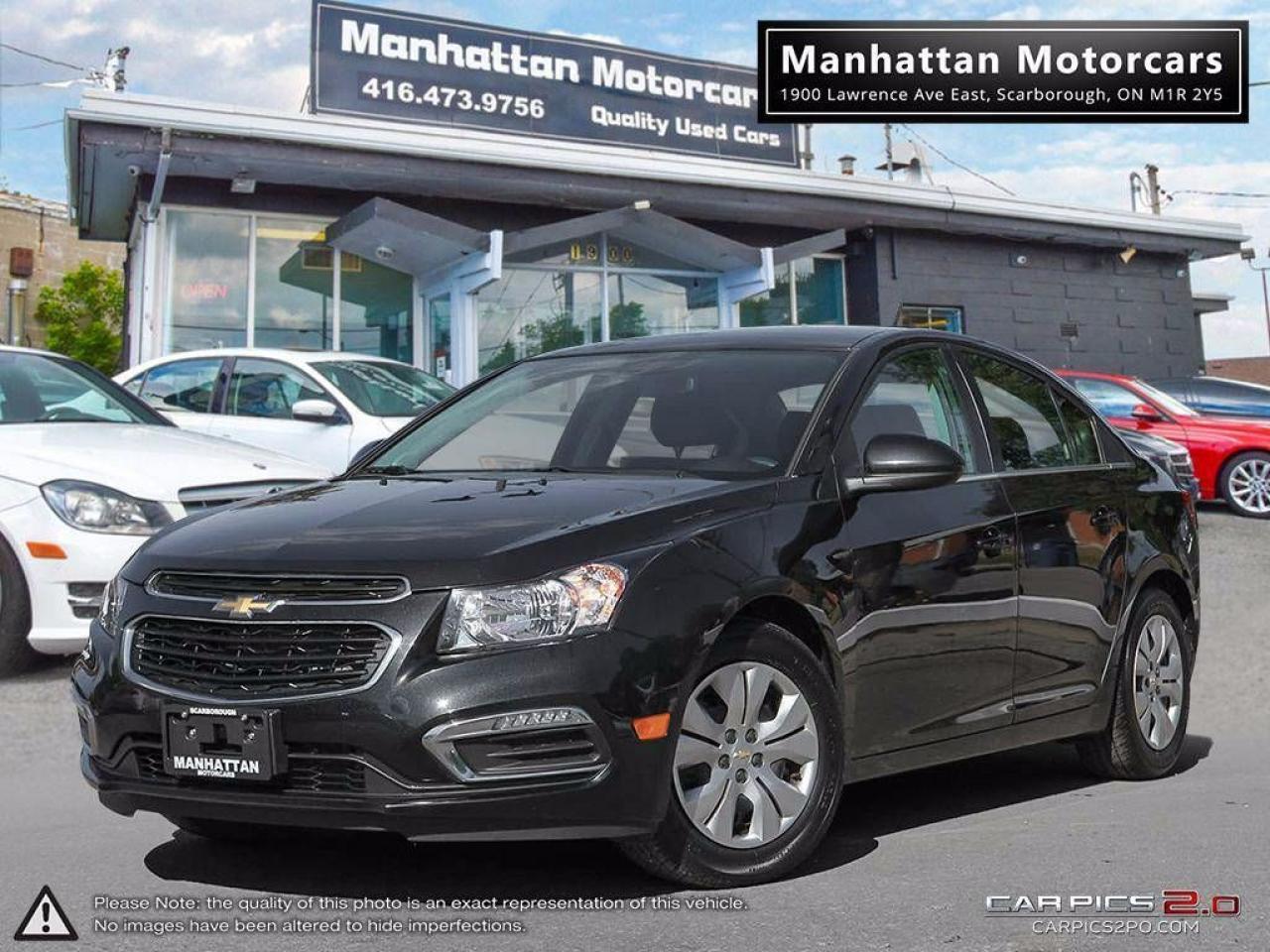 2016 Chevrolet Cruze LT LIMITED AUTO  BLUETOOTH CAMERA WARRANTY