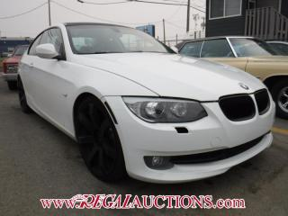 Used 2011 BMW 3 SERIES 335I 2D COUPE for sale in Calgary, AB