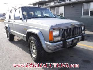 Used 1991 Jeep CHEROKEE LIMITED SPORT UTILITY 4-DR for sale in Calgary, AB