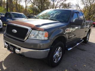 Used 2006 Ford F-150 XLT Crew CAB * 4WD * Premium Cloth Seating for sale in London, ON