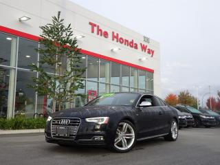Used 2013 Audi S5 3.0T Coupe quattro Tiptronic for sale in Abbotsford, BC