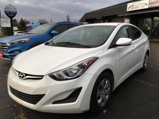 Used 2016 Hyundai Elantra L+ A/C, Automatic for sale in Brantford, ON