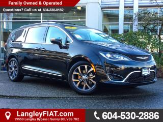 Used 2017 Chrysler Pacifica Limited NO ACCIDENTS, B.C OWNED for sale in Surrey, BC