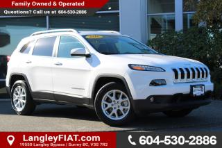 Used 2016 Jeep Cherokee North NO ACCIDENTS, B.C OWNED for sale in Surrey, BC