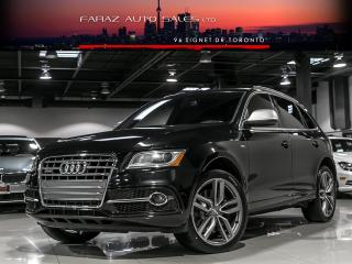 Used 2014 Audi SQ5 TV/DVD|B.SPOT|NAVI|REAR CAM|DRIVE SELECT|LOADED for sale in North York, ON