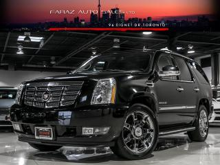 Used 2011 Cadillac Escalade 8PASS|TV/DVD|BLINDSPOT|NAVI|REAR CAM|FULLY LOADED for sale in North York, ON