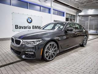 New 2018 BMW 540i xDrive Sedan for sale in Edmonton, AB
