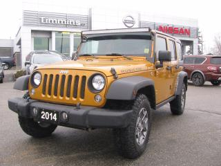 Used 2014 Jeep Wrangler RUBICON for sale in Timmins, ON