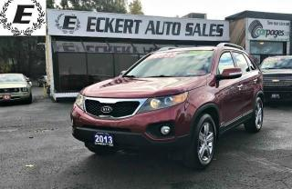 Used 2013 Kia Sorento EX AWD WITH NAV/LEATHER/SUNROOF for sale in Barrie, ON