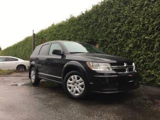 Used 2014 Dodge Journey CVP + NO EXTRA FEES + FREE LIFETIME ENGINE WARRANTY for sale in Surrey, BC