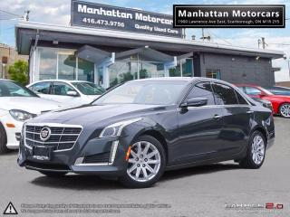Used 2014 Cadillac CTS 2.0T LUXURY PKG |NAV|PADDLESHIFT|WARRANTY|51K for sale in Scarborough, ON
