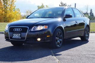 Used 2007 Audi A4 2.0T * No Accident * In Mint Condition! for sale in North York, ON