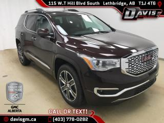 New 2018 GMC Acadia for sale in Lethbridge, AB