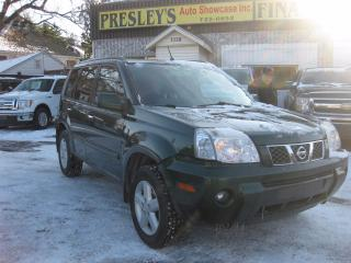 Used 2006 Nissan X-Trail SE  AC Sunroof PL PW 4x4 for sale in Ottawa, ON