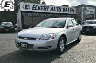 Used 2012 Chevrolet Impala LS WITH DUAL EXHAUST for sale in Barrie, ON