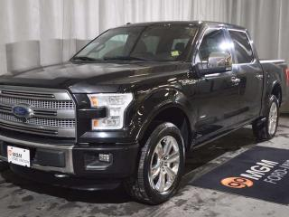 Used 2015 Ford F-150 Platinum 4x4 SuperCrew Cab 5.5 ft. box 145 in. WB for sale in Red Deer, AB