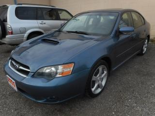 Used 2005 Subaru Legacy AWD for sale in Brantford, ON