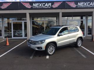Used 2014 Volkswagen Tiguan 2.0TSI COMFORTLINE AUT0 AWD LEATHER PANO/ROOF 108K for sale in North York, ON